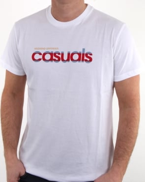 Weekend Offender Terrace Casuals T Shirt White