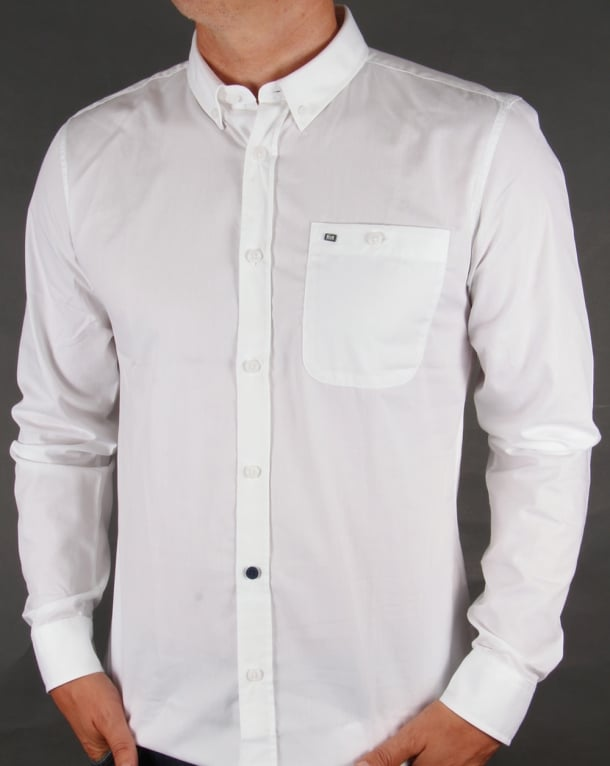 Weekend Offender Tib Shirt White