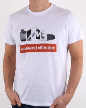 Weekend Offender Trainerspotting Tee White
