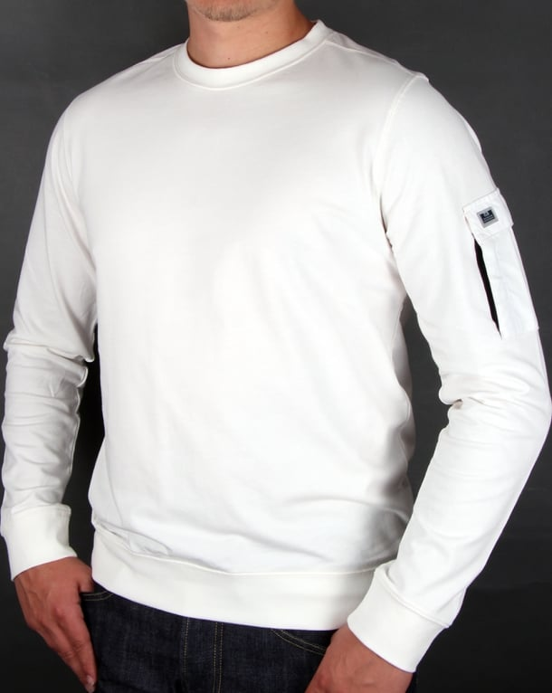 Weekend Offender Trent Sweatshirt Ghost