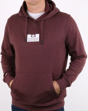 Weekend Offender Tunney Hoody Loganberry