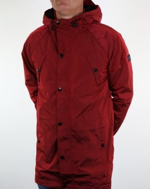 Weekend Offender Washington Parka Red