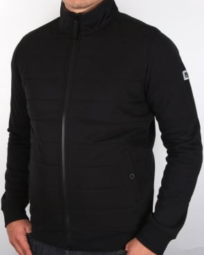 Weekend Offender Wear Padded Track Top Black