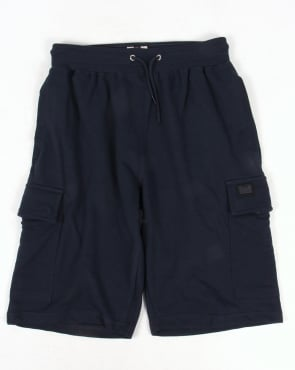 Weekend Offender Yorsh Combat Shorts Navy