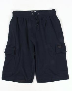 Weekend Offender Yorsh Combat Shorts Navy