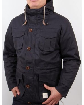 Wemoto Tobin Hooded Jacket Navy
