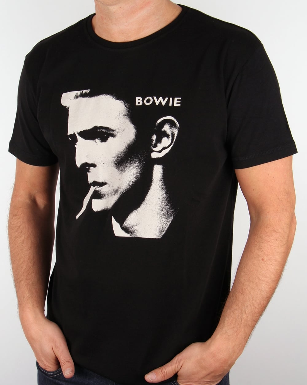 85522585ef42 Worn By David Bowie T Shirt Black,tee,mens