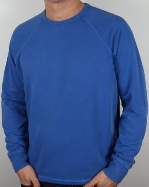 YMC Almost Grown Sweatshirt Royal Blue