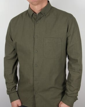Ymc Jan & Dean Shirt Green
