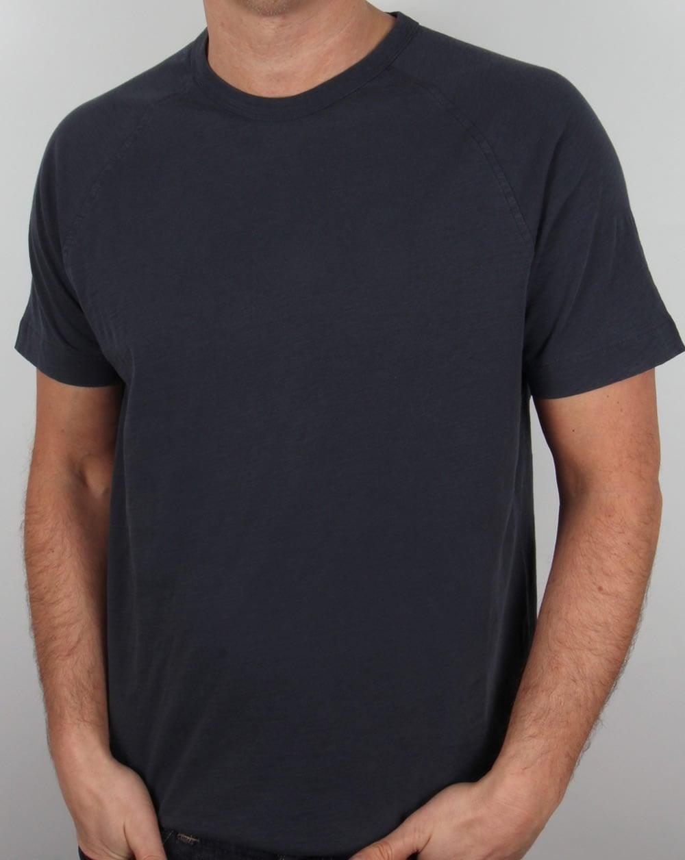 Ymc black t shirt - Ymc Television Raglan T Shirt Navy